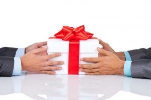 פרוטוקול המתנות בסין, מתנה, מתנה עסקית,פרוטוקול המתנות